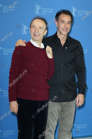 Roberto Benigni and Matteo Garrone