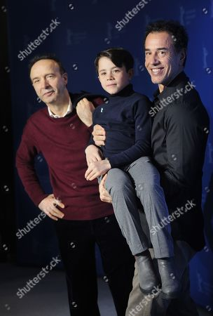 Roberto Benigni, Federico Ielapi and Matteo Garrone