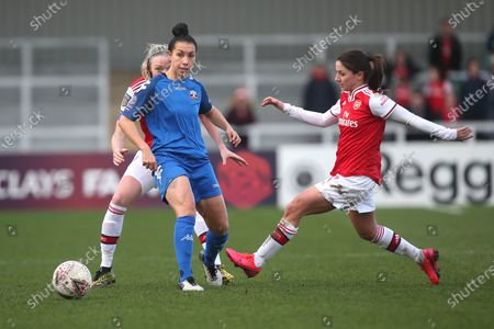 Editorial image of Arsenal Women vs Lewes FC Women, Women's FA Cup, Football, Meadow Park, Borehamwood, Hertfordshire, United Kingdom - 23 Feb 2020