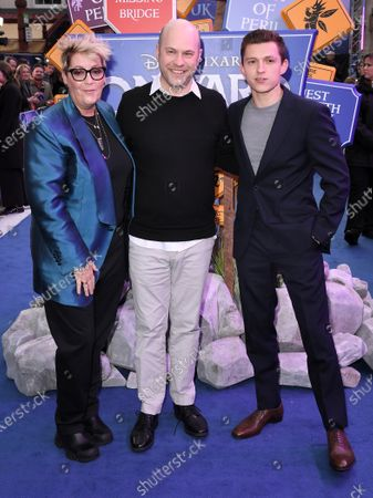 Kori Rae, Dan Scanlon and Tom Holland