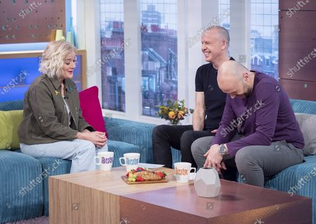 Sophie Thompson, Tim Lovejoy and Simon Rimmer
