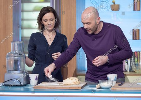 Rachael Stirling and Simon Rimmer