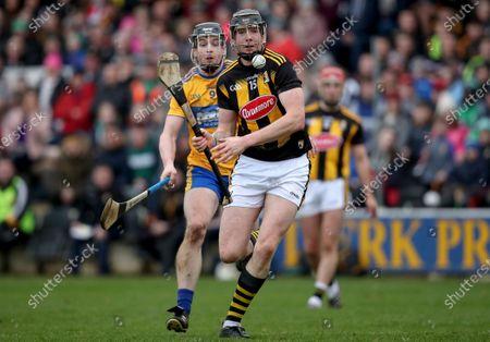 Kilkenny vs Clare. Clare's Tony Kelly and Walter Walsh of Kilkenny