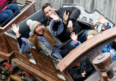 Editorial picture of Michelle Heaton and family out and about, Chessington World of Adventures Resort, Surrey, UK - 23 Feb 2020