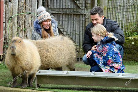 Michelle Heaton, Hugh Hanley and family