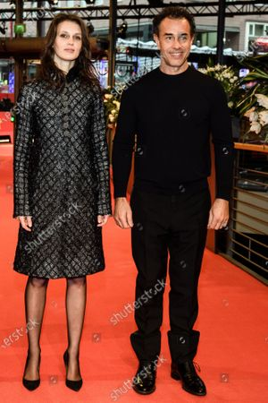 Marine Vacth (L) and director Matteo Garrone arrive for the premiere of 'Pinocchio' during the 70th annual Berlin International Film Festival (Berlinale), in Berlin, Germany, 23 February 2020. The movie is presented in the Berlinale Special section at the Berlinale that runs from 20 February to 01 March 2020.