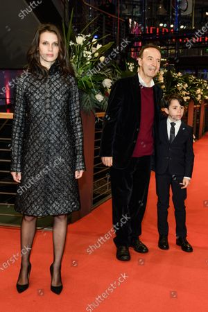 Marine Vacth, Roberto Benigni and Federico Ielapi arrive for the premiere of 'Pinocchio' during the 70th annual Berlin International Film Festival (Berlinale), in Berlin, Germany, 23 February 2020. The movie is presented in the Berlinale Special section at the Berlinale that runs from 20 February to 01 March 2020.