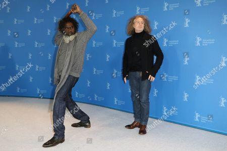 Stock Photo of Witiyana Marika and Stephen Maxwell Drew Johnson