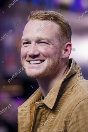 British athlete Greg Rutherford attends the UK premiere of 'Onward' at Curzon Mayfair in London, Britain, 23 February 2020. The film will be release in British Cinemas on 06 March.