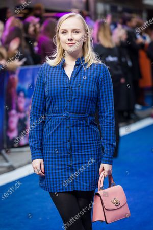 Alexa Davies attends the UK premiere of 'Onward' at Curzon Mayfair in London, Britain, 23 February 2020. The film will be release in British Cinemas on 06 March.
