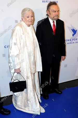 British actreess Vanessa Redgrave (L) and Italian actor Franco Nero attend the Cinema for Peace gala during the 70th annual Berlin International Film Festival (Berlinale), in Berlin, Germany, 23 February 2020.