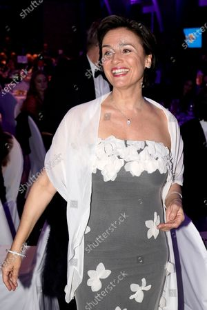 Sandra Maischberger attends the Cinema for Peace gala during the 70th annual Berlin International Film Festival (Berlinale), in Berlin, Germany, 23 February 2020.