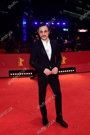 Franz Rogowski arrives for the premiere of 'Undine' during the 70th annual Berlin International Film Festival (Berlinale), in Berlin, Germany, 23 February 2020. The movie is presented in the Official Competition at the Berlinale that runs from 20 February to 01 March 2020.