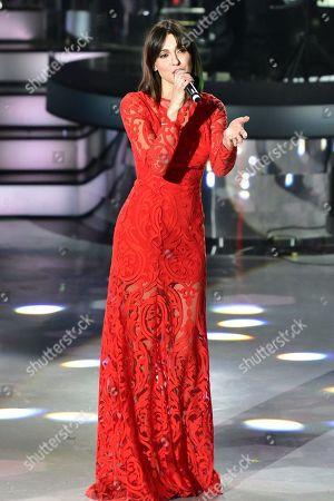 Editorial photo of 'Una Storia Da Cantare' TV show, Auditorium Rai, Naples, Italy - 22 Feb 2020