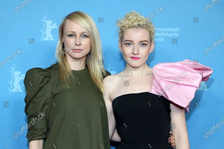 Kitty Green (L) and US actress Julia Garner attend the premiere of 'The Assistant' during the 70th annual Berlin International Film Festival (Berlinale), in Berlin, Germany, 23 February 2020. The movie is presented in the Panorama section at the Berlinale that runs from 20 February to 01 March 2020.
