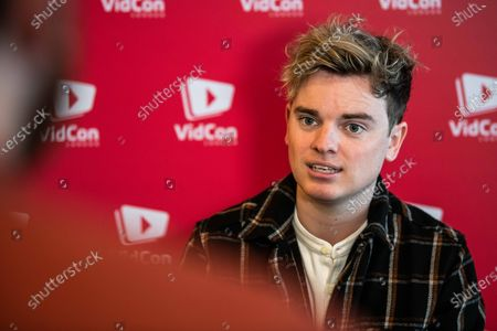 Editorial picture of Vidcon, ExCeL centre, London, UK - 23 Feb 2020