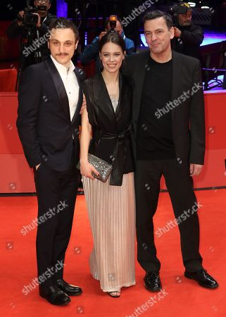 Franz Rogowski, Paula Beer and Christian Petzold