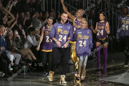 Philipp Plein and Jada Pinkett Smith on the catwalk