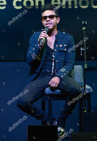 Editorial photo of Kalimba in concert at Casino Life, Mexico City, Mexico - 22 Feb 2020