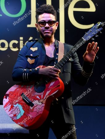 Editorial image of Kalimba in concert at Casino Life, Mexico City, Mexico - 22 Feb 2020