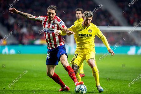 Editorial image of Atletico Madrid vs Villarreal CF, Spain - 23 Feb 2020