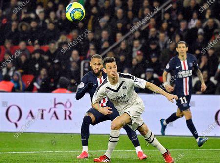 Editorial photo of Paris Saint-Germain vs Girondins Bordeaux, France - 23 Feb 2020