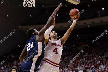 Editorial image of Penn St Indiana Basketball, Bloomington, USA - 23 Feb 2020