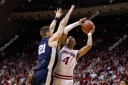 Editorial picture of Penn St Indiana Basketball, Bloomington, USA - 23 Feb 2020
