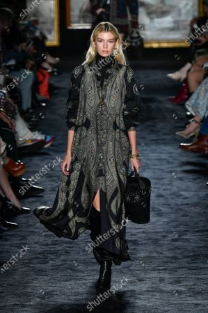 Stock Picture of Stella Maxwell on the catwalk