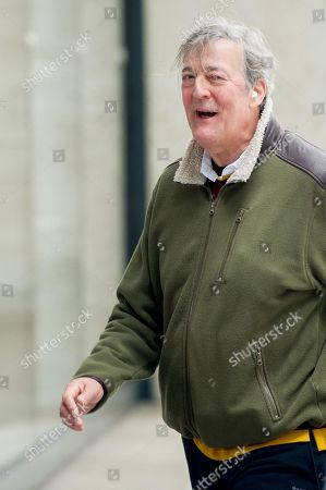 Stephen Fry at the BBC Studios