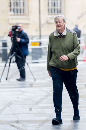 Stephen Fry at the BBC Studios at the BBC Studios
