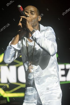 Editorial photo of Sanchez and Barrington Levy in concert, O2 Academy Brixton, London, UK  - 23 Feb 2020