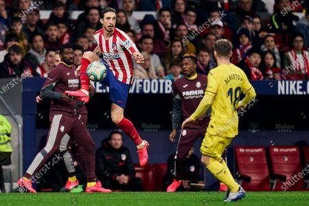 Editorial photo of Atletico Madrid v Villarreal CF, La Liga, Football, Wanda Metropolitano Stadium, Madrid, Spain - 23 Feb 2020