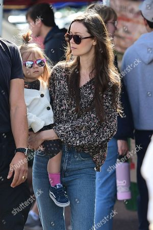 Editorial picture of Summer Glau and Val Morrison out and about, Los Angeles, USA - 23 Feb 2020