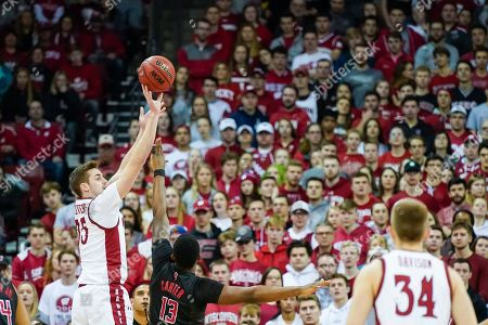 Editorial picture of Rutgers Wisconsin Basketball, Madison, USA - 23 Feb 2020