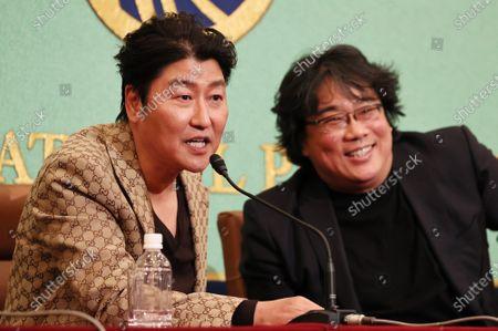 Stock Photo of Kang-Ho Song and Bong Joon-Ho