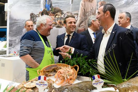 Emmanuel Macron and Eric Bothorel