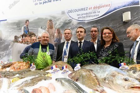 Editorial photo of International Agricultural Fair, Paris, France - 22 Feb 2020