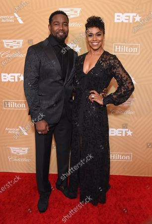 Editorial photo of American Black Film Festival Honors, Arrivals, Beverly Hilton Hotel, Los Angeles, USA - 23 Feb 2020