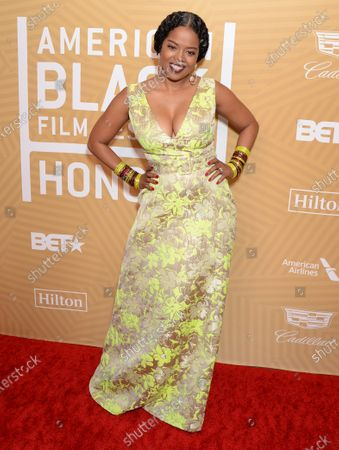 Editorial image of American Black Film Festival Honors, Arrivals, Beverly Hilton Hotel, Los Angeles, USA - 23 Feb 2020