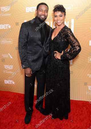 Editorial picture of American Black Film Festival Honors, Arrivals, Beverly Hilton Hotel, Los Angeles, USA - 23 Feb 2020