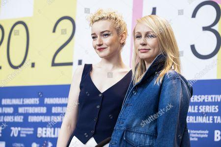 Stock Image of Julia Garner and Kitty Green