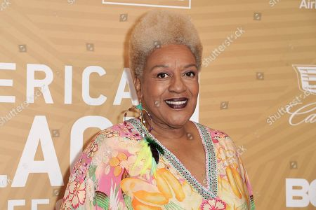 Pounder attends the American Black Film Festival Honors Awards at the Beverly Hilton Hotel, in Beverly Hills, Calif