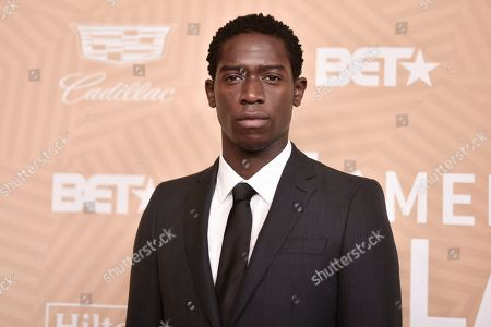 Stock Image of Damson Idris attends the American Black Film Festival Honors Awards at the Beverly Hilton Hotel, in Beverly Hills, Calif