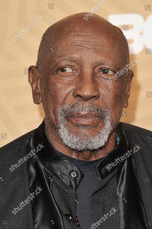 Lou Gossett Jr Jr. attends the American Black Film Festival Honors Awards at the Beverly Hilton Hotel, in Beverly Hills, Calif