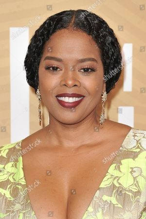 Stock Photo of Malinda Williams attends the American Black Film Festival Honors Awards at the Beverly Hilton Hotel, in Beverly Hills, Calif
