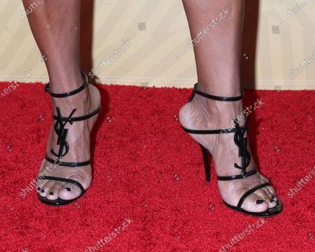 Vanessa Bell Calloway, shoe detail