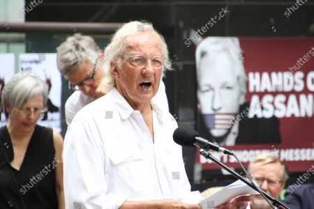 Editorial image of Rally against extradition of Julian Assange, Sydney, Australia - 24 Feb 2020