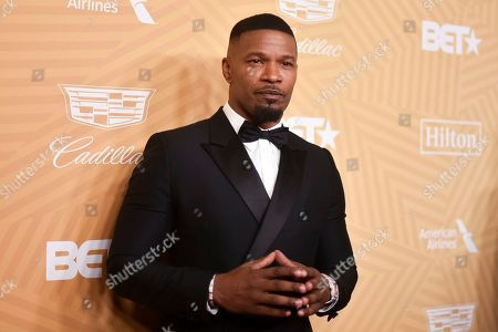 Stock Photo of Jamie Foxx attends the American Black Film Festival Honors Awards at the Beverly Hilton Hotel, in Beverly Hills, Calif