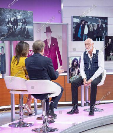 Bill Turnbull and Susanna Reid with Mick Fleetwood